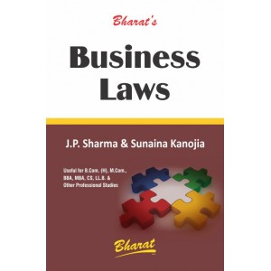 Bharat's Business Laws by J. P. Sharma & Sunaina Kanojia